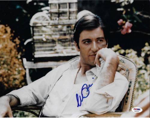 Al Pacino Autographed 11x14 The Godfather Photo Michael Corleone - PSA/DNA 7