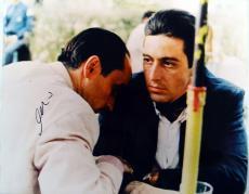 Al Pacino Autographed 16x20 Godfather Photo PSA/DNA & Proof AFTAL