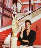 "Al Pacino Autographed 20""x 24"" Scarface Smoking Cigar Stretched Canvas - BAS COA"