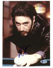 "Al Pacino Autographed 8""x 10"" Carlito's Way Playing Pool Photograph - Beckett COA"