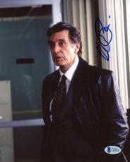 "Al Pacino Autographed 8""x 10"" Insomnia Black Jacket Photograph - BAS COA"