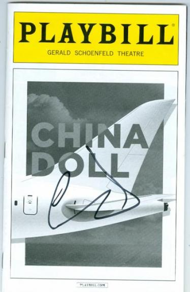 Al Pacino autographed Broadway Playbill China Doll SC1