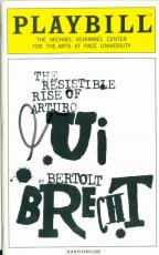 Al Pacino autographed Broadway Playbill Rise of Auturo Ui