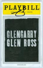 Al Pacino autographed Glengarry Glen Ross Broadway Playbill