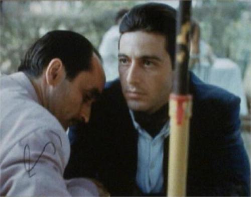 Al Pacino autographed photo (The Godfather Michael Corleone) size 11x14 image #SC18