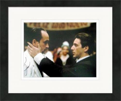 Al Pacino autographed photo (The Godfather Michael Corleone) size 11x14 #SC20 Matted Framed