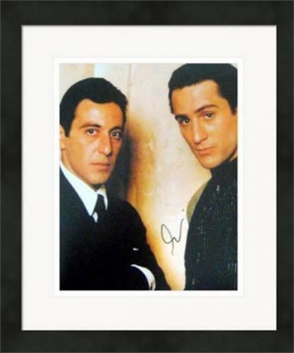 Al Pacino autographed photo (The Godfather Michael Corleone) size 11x14 #SC21 Matted Framed