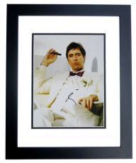 Al Pacino Autographed SCARFACE 11x14 Photo BLACK CUSTOM FRAME