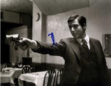 Al Pacino Autographed Signed 11x14 B/W The Godfather Gun Photo AFTAL UACC RD