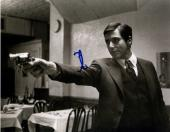 Al Pacino Autographed Signed 11x14 B/W The Godfather Gun Photo AFTAL UACC RD