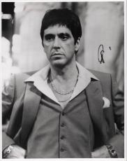 Al Pacino Autographed Signed 11x14 Scarface B/W Photo AFTAL
