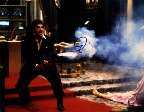 Al Pacino Autographed Signed 11x14 Scarface Poster Photo UACC RD AFTAL TS
