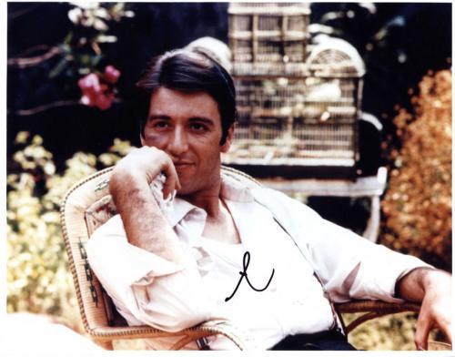 Al Pacino Autographed Signed 11x14 The Godfather Photo AFTAL UACC RD COA