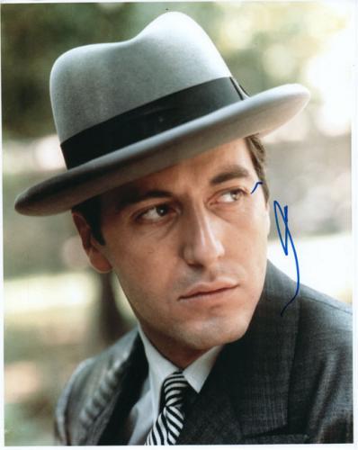 Al Pacino Autographed Signed 8x10 Godfather Part II Photo AFTAL UACC RD COA