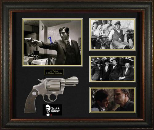Al Pacino Autographed Signed 8x10 Photo With Custom Godfather Display Case Plus