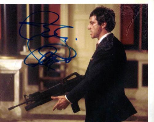Al Pacino Autographed Signed 8x10 Play Rough Photo AFTAL