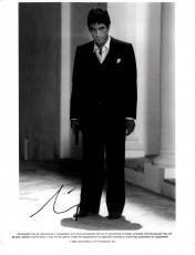 Al Pacino Autographed Signed B/W Tony Montana 8x10 Photo UACC RD AFTAL COA