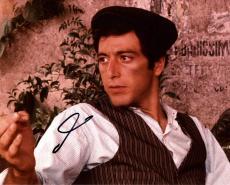 Al Pacino Autographed Signed Don Carleone 8x10 Photo UACC RD AFTAL COA