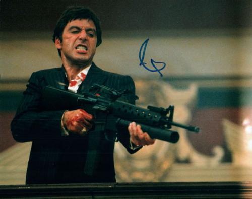 Al Pacino Autographed Signed Scarface Little Friend 08x10 AFTAL UACC RD COA
