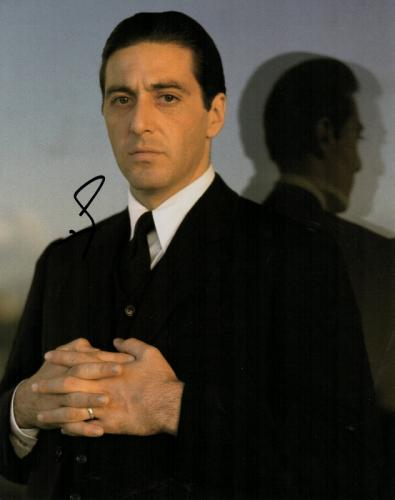Al Pacino Signed - Autographed The Godfather 11x14 inch Photo - Guaranteed to pass PSA or JSA