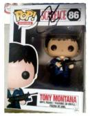 Al Pacino autographed Tony Montana Scarface Funko Pop Toy Figure on Box