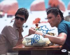 Al Pacino & Bauer Signed Authentic 11x14 Photo Scarface Psa/dna Itp 5a00037