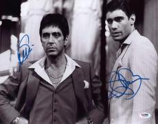Al Pacino & Bauer Signed Authentic 11x14 Photo Scarface Psa/dna Itp 5a00504
