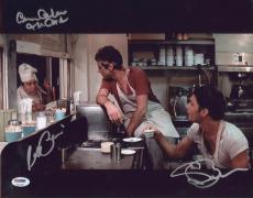 Al Pacino & Bauer Signed Authentic 11x14 Photo Scarface Psa/dna Itp 6a31592