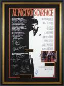Scarface Al Pacino & Cast Signed Movie Poster - PSA Coll
