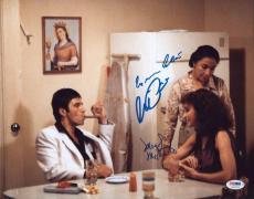 Al Pacino  Colon Mastroantonio Signed11x14 Photo Scarface Psa/dna Itp 5a95722