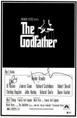 "Al Pacino & Francis Ford Coppola Autographed 12""x 17"" The Godfather Movie Poster - BAS COA"