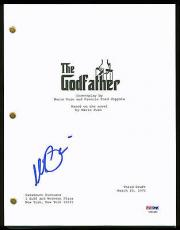 Al Pacino Full Name Signed The Godfather Movie Script PSA/DNA #7A44450