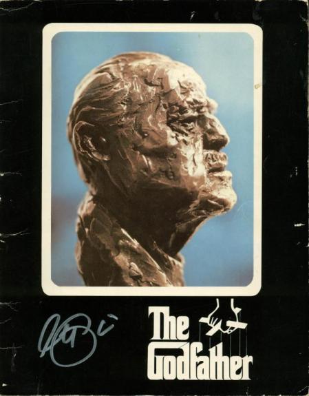 Al Pacino Full Name Signed The Godfather Original Program PSA/DNA #X14257