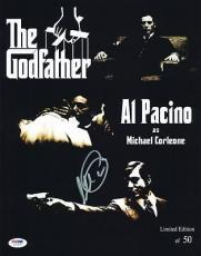 Al Pacino Godfather Signed 11X14 Ltd Ed Collage Photo PSA ITP #5A78987
