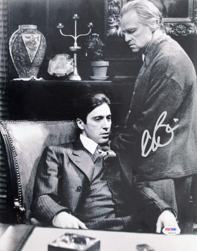 Al Pacino Godfather Signed 11X14 Photo W/ Brando PSA/DNA ITP #5A78991