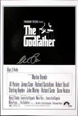 Al Pacino Godfather Signed 12X18 Mini Poster Graded Perfect 10! PSA/DNA #5A00994