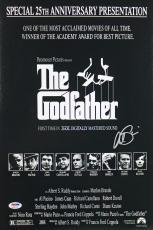 Al Pacino Godfather Signed 12x18 Movie Poster Auto Graded Gem 10! PSA #6A31136