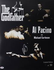 Al Pacino Godfather Signed 16X20 Ltd Ed Collage Photo PSA ITP #5A80114
