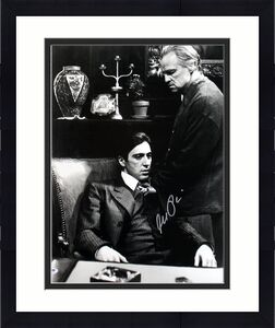 Al Pacino Godfather  Signed 16X20 Photo W/ Brando PSA ITP #4A98748