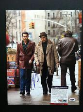 Al Pacino & Johnny Depp Signed 11x14 Photo Autograph Psa Dna Coa Donnie Brasco