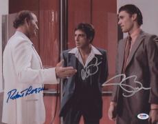 Al Pacino & Loggia  Bauer  Signed 11x14 Photo Scarface Psa/dna Itp 5a93677
