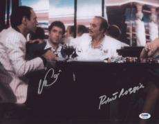 Al Pacino & Loggia Signed Authentic 11x14 Photo Scarface Psa/dna Itp 5a93766