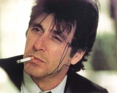 "AL PACINO - Movies Include ""THE GODFATHER"", ""SCARFACE"", and and ""SCENT of a WOMAN"" Signed 10x8 Color Photo"