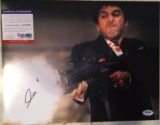 Al Pacino Rare Signed Autographed Scarface 11x14 Photo W/ Psa/dna Coa Godfather