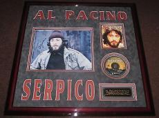 Al Pacino Rare Signed & Framed 11 x 14 Serpico Photo, Psa/Dna!!!