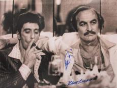 Al Pacino Robert Loggia Full Signature Scarface 16x20 Photo Psa/dna 5a93822