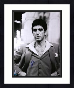 "Al Pacino Scarface Autographed 16"" x 20"" in Suit Photograph - BAS"