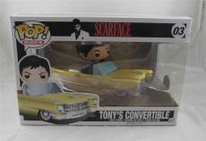 Al Pacino Scarface Autographed Signed Funko Pop Doll Rides PSA/DNA COA