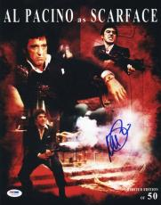 Al Pacino Scarface Signed 11X14 Ltd Ed Collage Photo PSA #5A78909