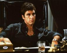 Al Pacino Scarface Signed 11X14 Photo Auto Graded Gem Mint 10! PSA/DNA #6A31057